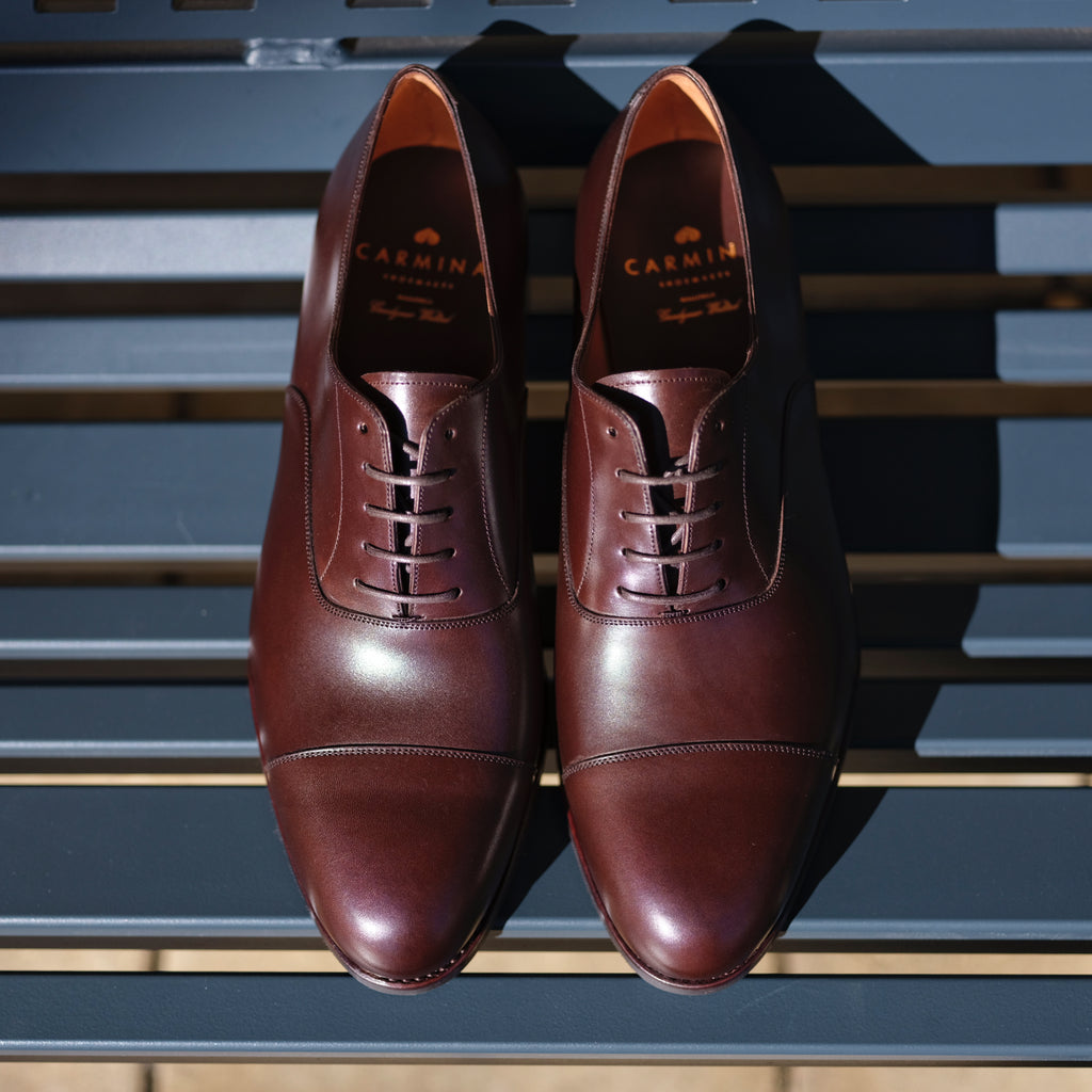 Carmina Cap Toe Oxford