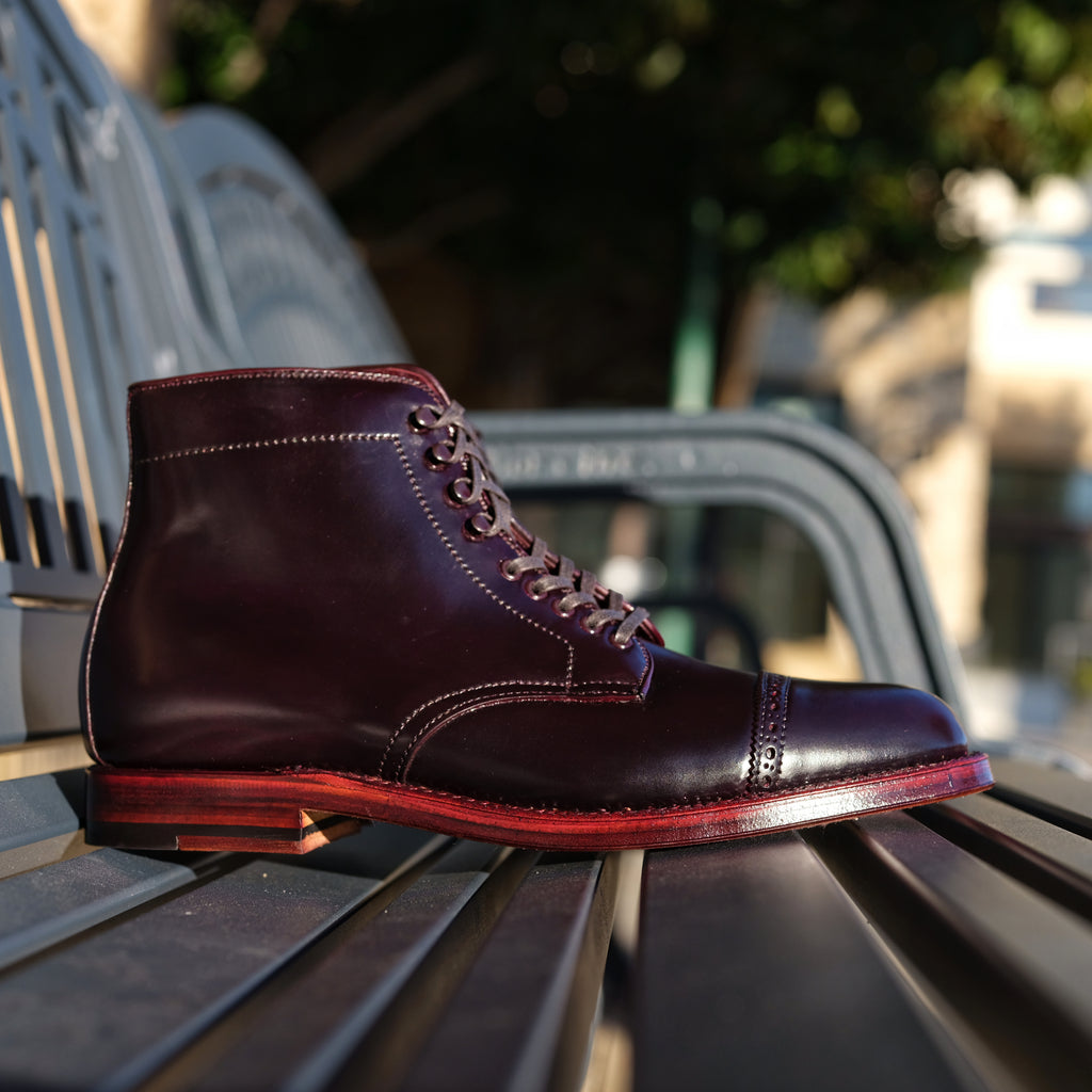 Alden x Brogue Jumper Boot