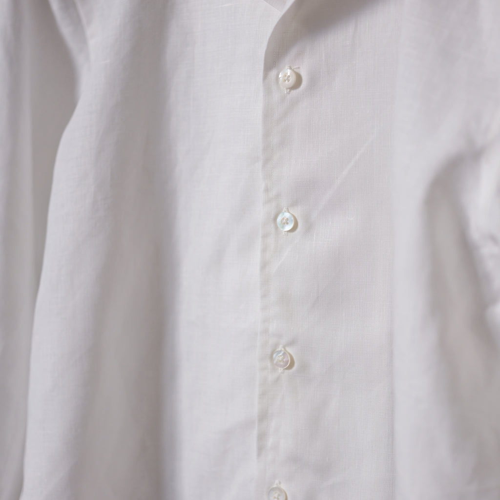 Ring Jacket Linen Cuban Collar Shirt