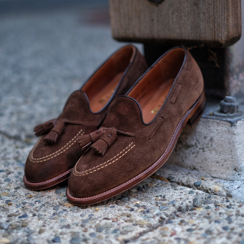Alden x Brogue Harvey Tassel Moccasin