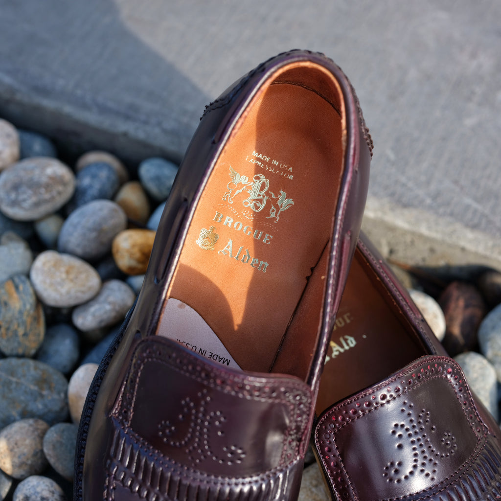 Alden x Brogue Palm Beach Loafer (Color 8)
