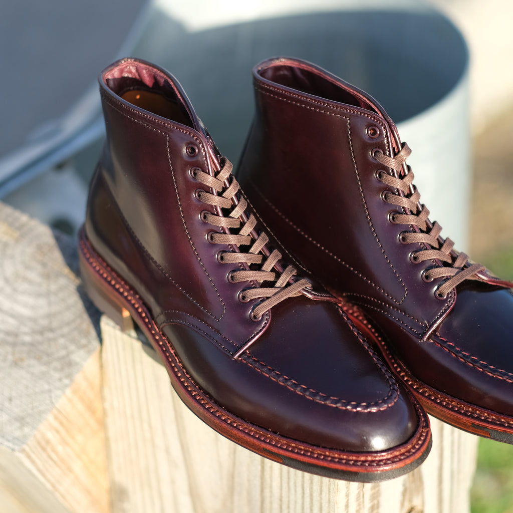Alden x Brogue Wheelers Boot