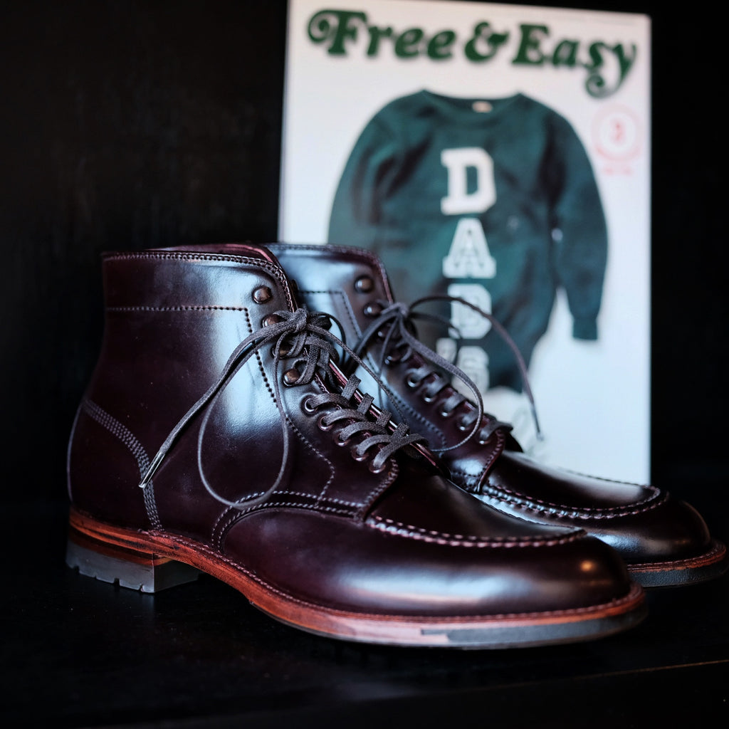 Alden x Brogue Military Boot
