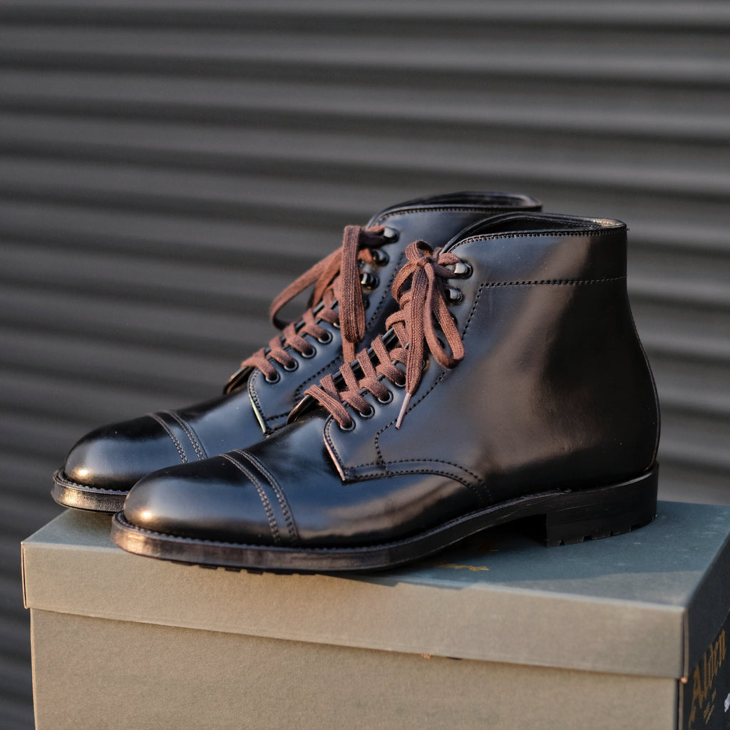 Alden x Brogue Cavalry Boot