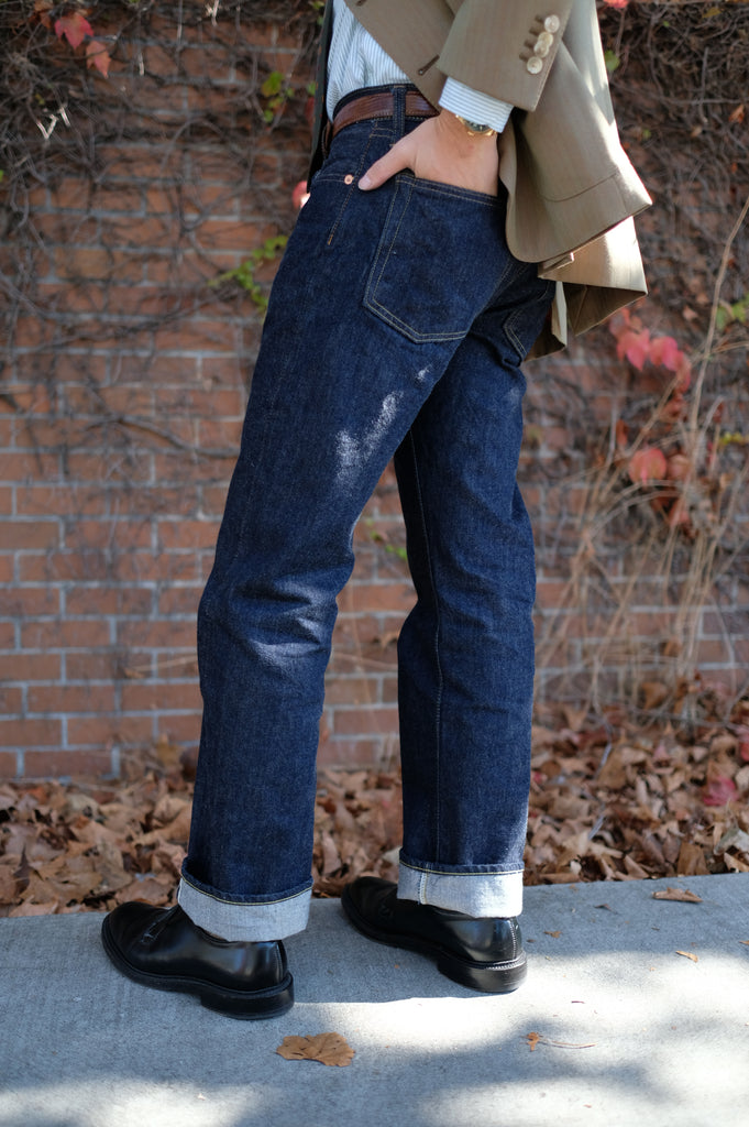 Resolute Straight Fit One Washed Denim - 711