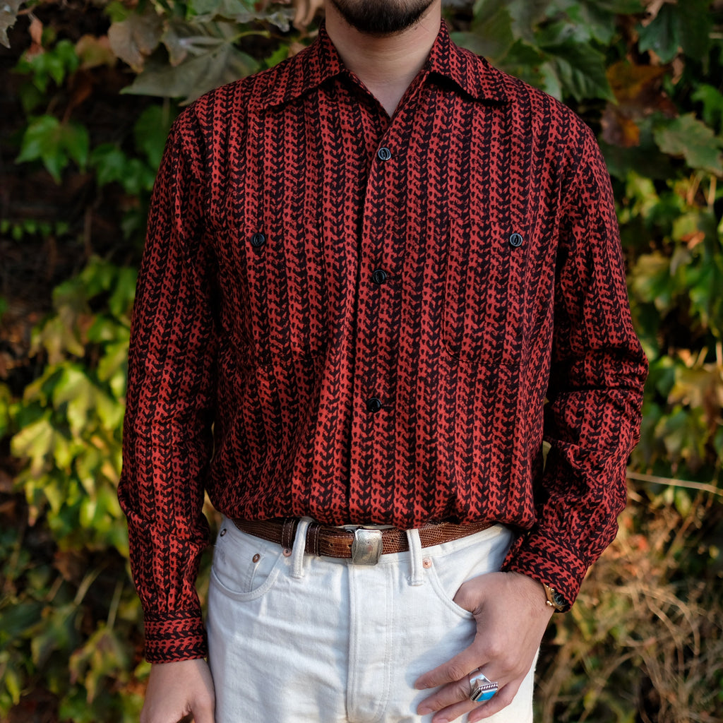 Groovin High - Vintage 50's Style Box Shirt