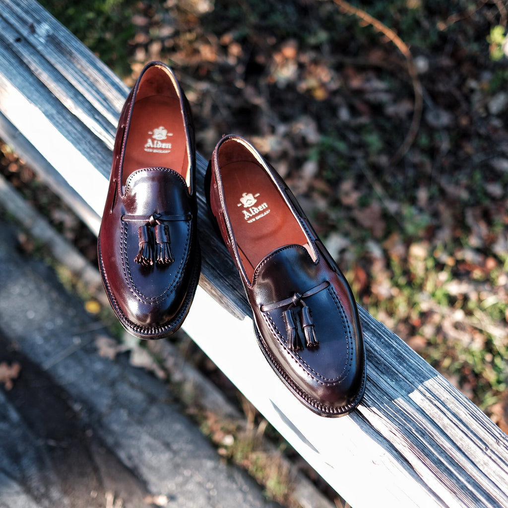 Alden Tassel Loafer #563