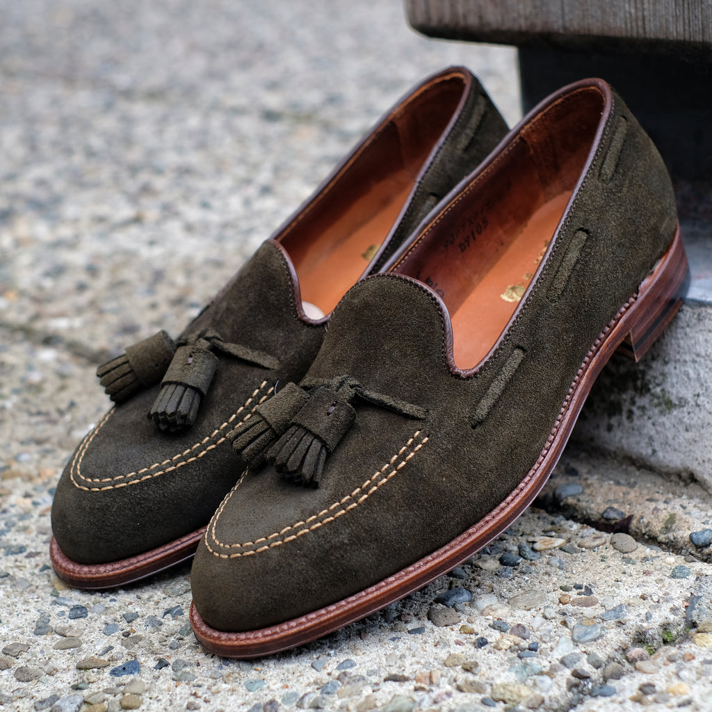 Alden x Brogue Hanover Tassel Loafer