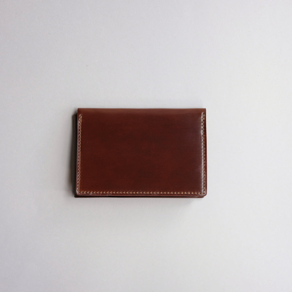 Kreis L-Fold Wallet ( Color 4 Shell Cordovan )