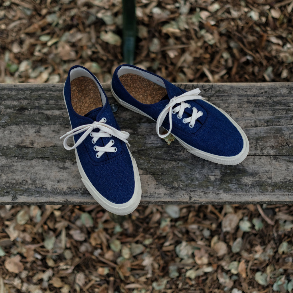 Doek - Oxford Shoe ( Navy )