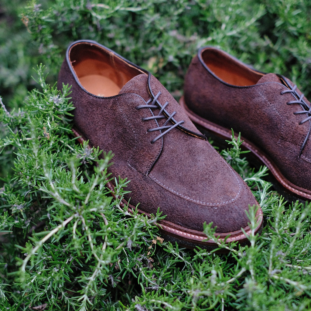 Alden x Brogue Mocc Walker Blucher