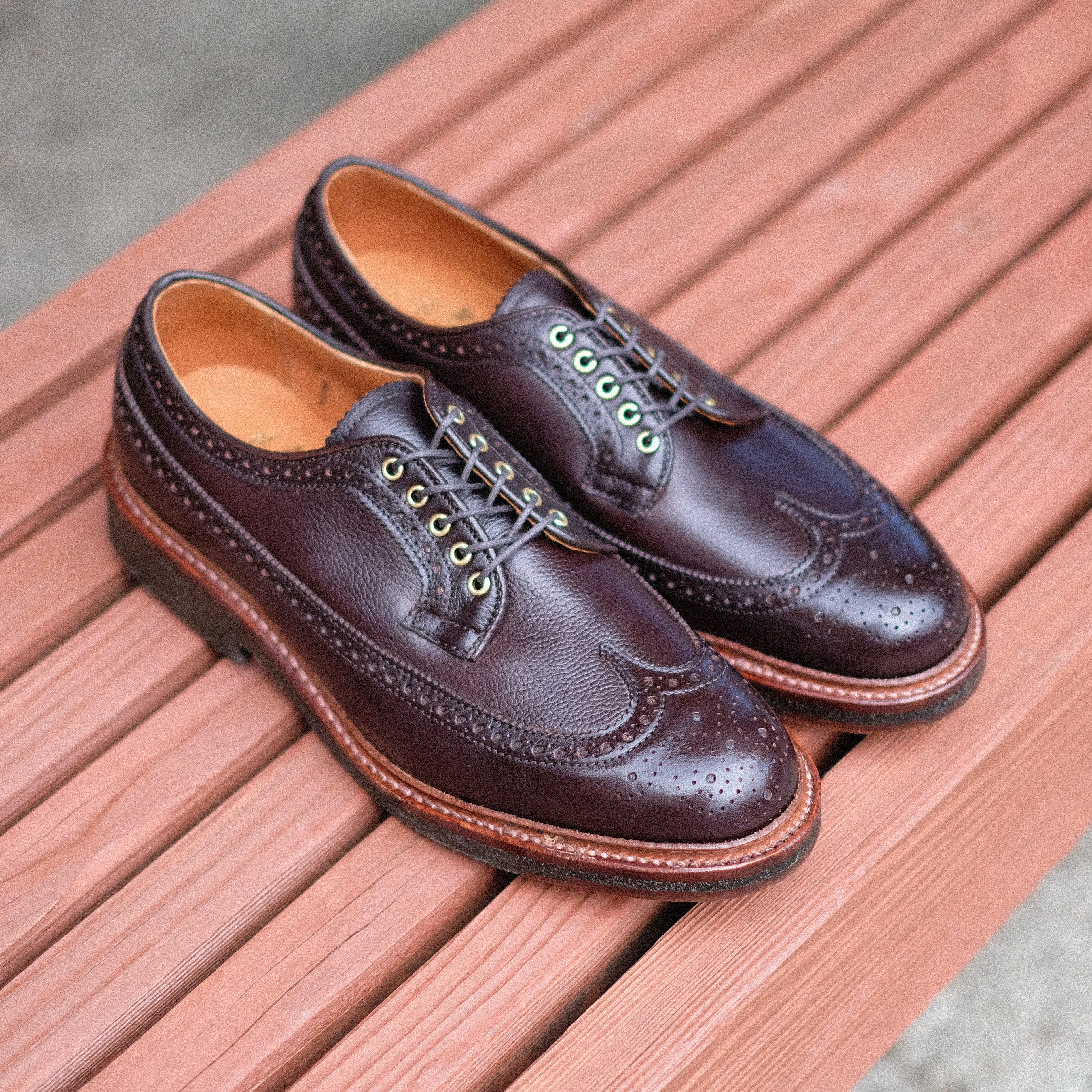 Alden x Brogue Long Wing Blucher