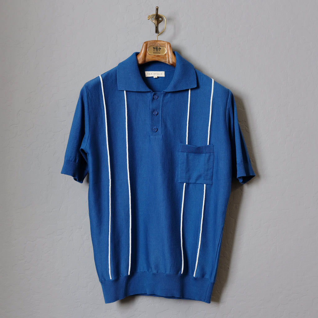 Far Afield Alfaro Short Sleeve Polo