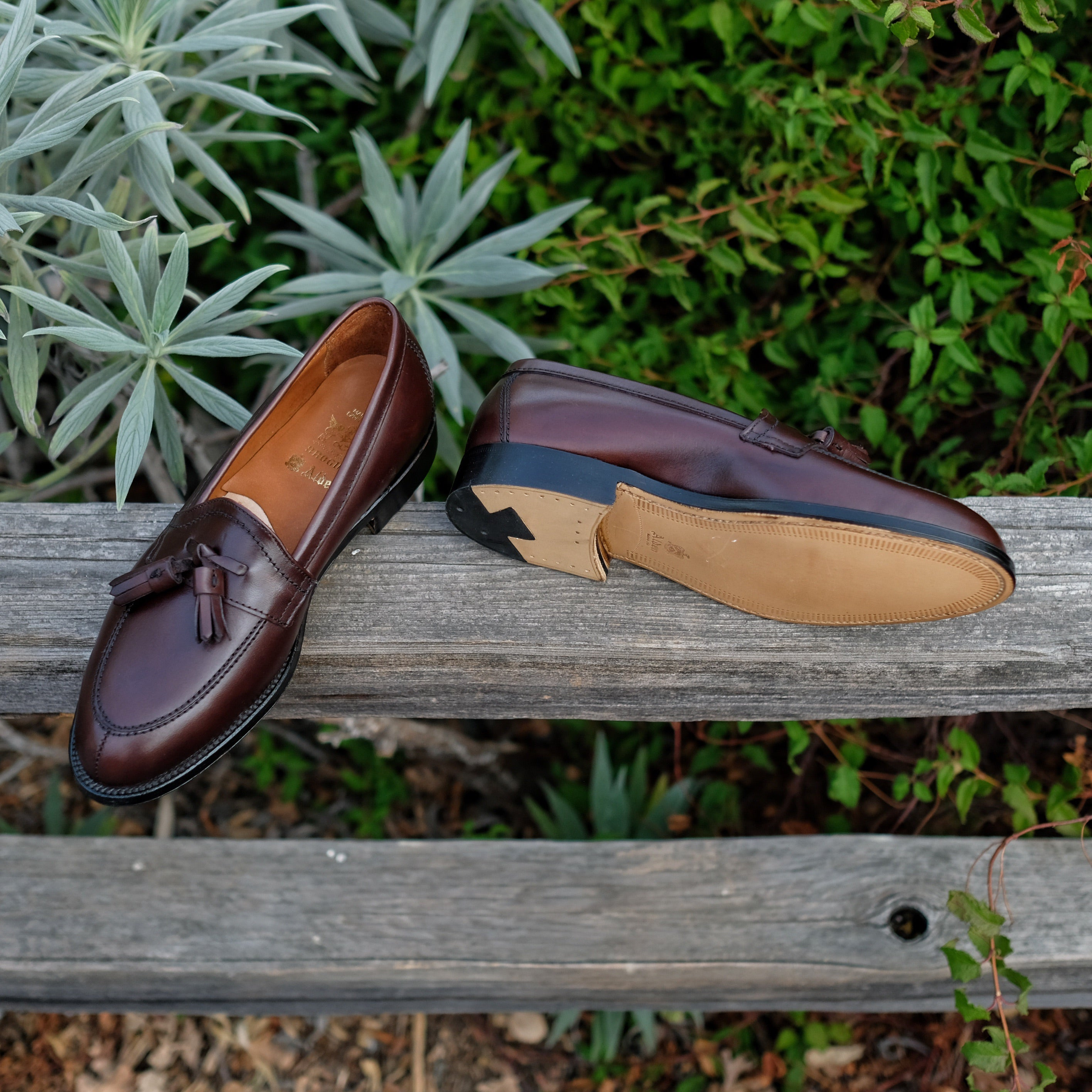 Alden x Brogue Lazy Gent Loafer