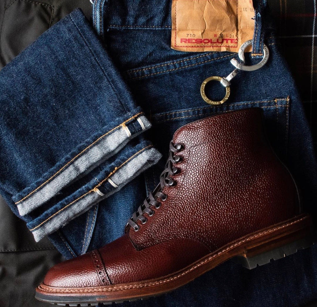 Alden x Brogue Terranova Boot