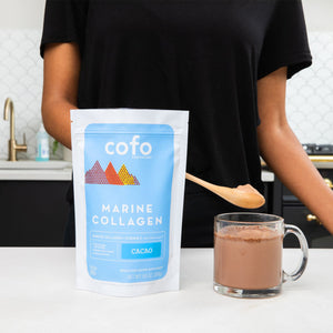 Marine Collagen + Vitamin C Superpowder | Cacao