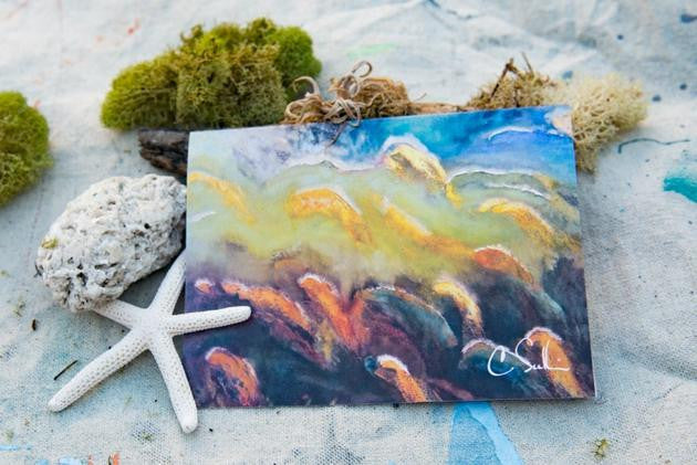 """Shoal"" Greeting Cards (10-Pack)"