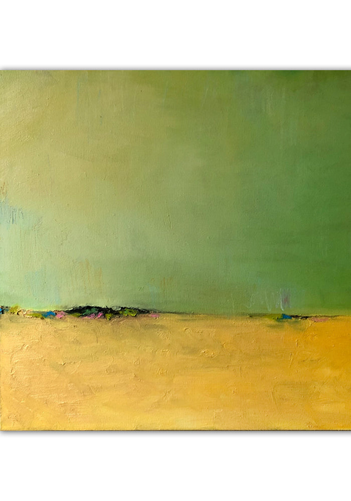 "Greenish Yellow 24""x24"""