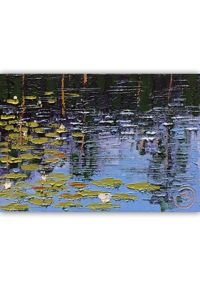 "Lilly Pads on 30A 7""x5"""