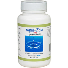Aqua Zole Forte - Metronidazole 500mg each (60 Count). No prescription required.