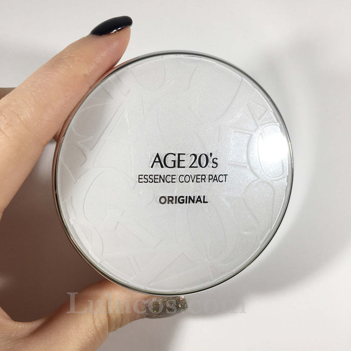 Review: Age 20's Essence Cover Pact Original White Latte #21 SPF50