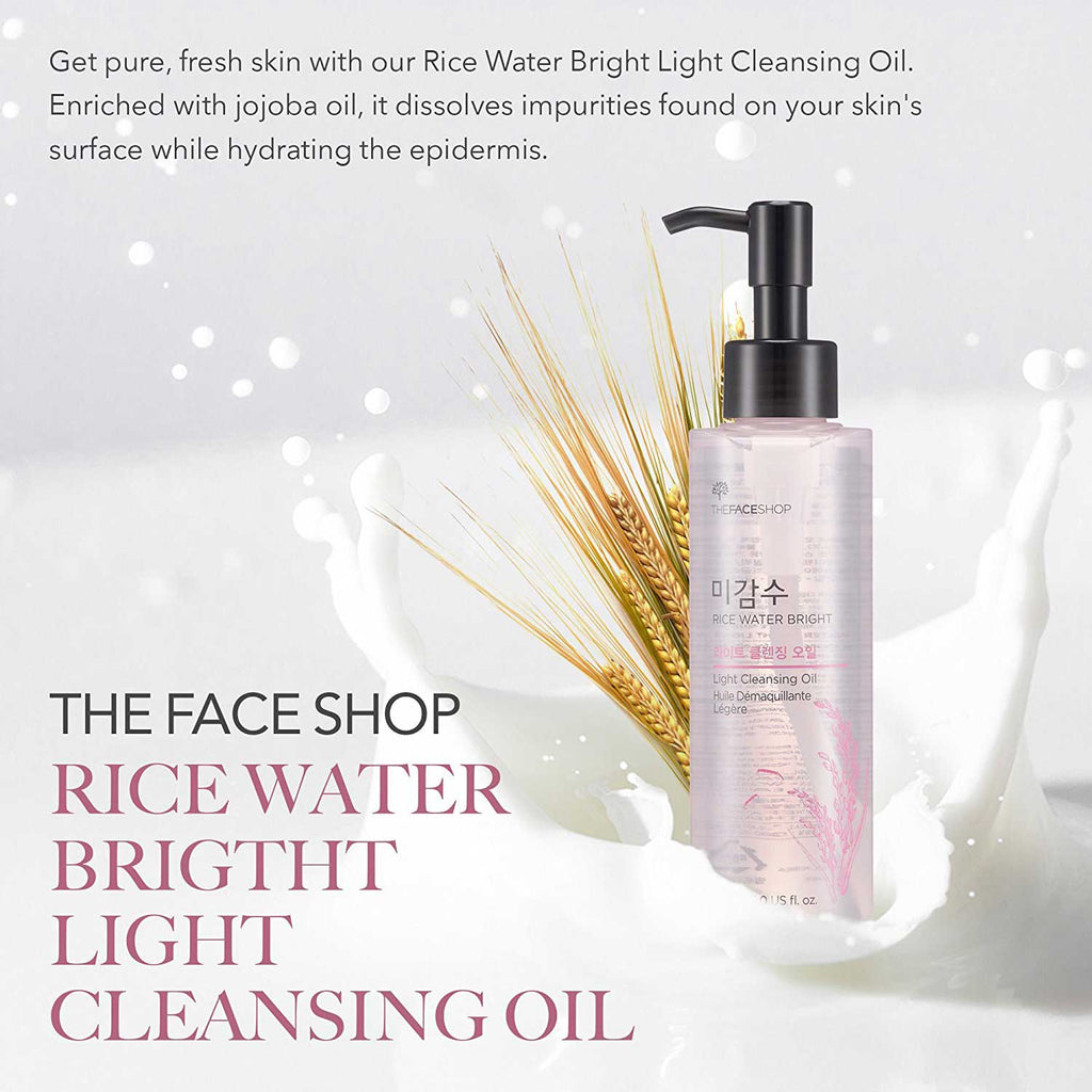 THE FACE SHOP Migamsu Rice Water Bright Cleansing Oil