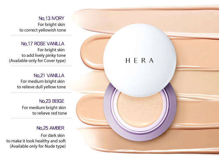 HERA UV Mist Cushion Cover SPF 50 15g Details