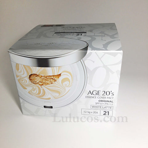 Age 20's Essence Cover Pact Original White Latte SPF50
