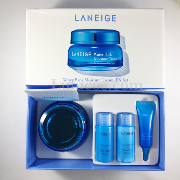 Laneige Water Bank Moisture Cream Set- Limited Edition