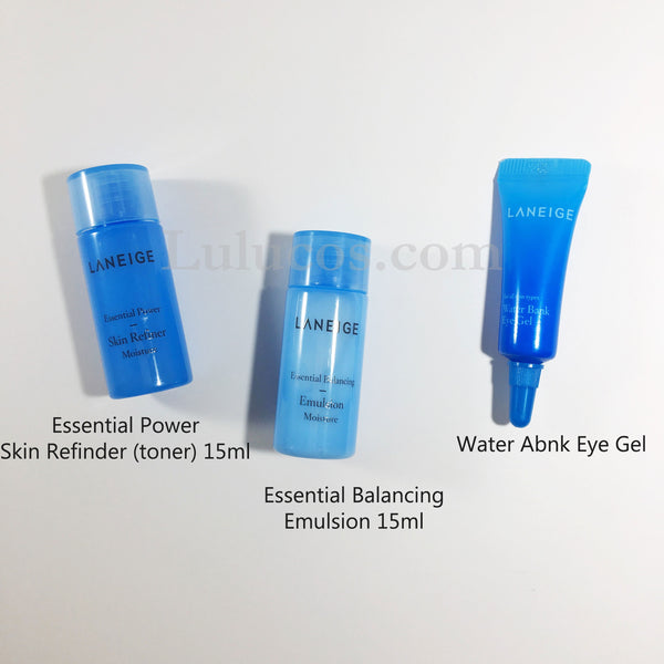 Laneige Water Bank Gel Cream Set - Limited Edition