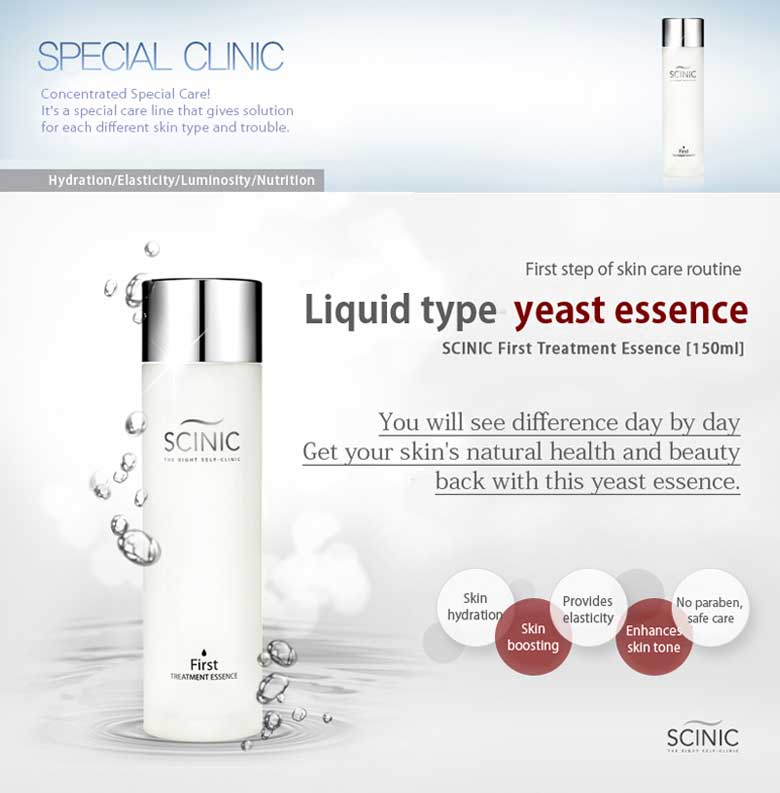 SCINIC First Treatment Yeast Essence 150ml detail