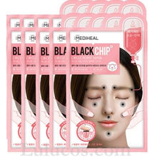 Mediheal Black Chip Circle Point Mask (Pink) 10