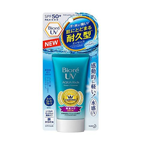 KAO Biore UV Aqua Rich Watery Essence Water Base SPF50 SPF 50 Face Skin Protection