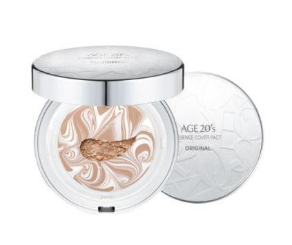 Age 20's Essence Cover Pact Original White Latte SPF50 12.5g