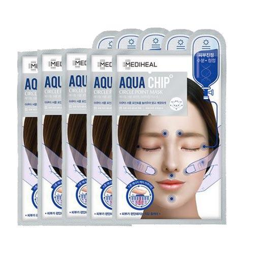 Mediheal Aqua Chip Circle Point Mask (Blue) 5