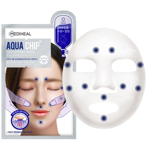 Mediheal Aqua Chip Circle Point Mask (Blue)