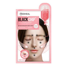 Mediheal Black Chip Circle Point Mask (Pink)