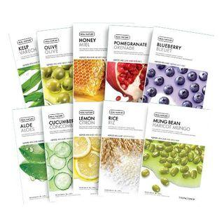 The Face Shop Real Nature Face Mask 1ea (7 Types)