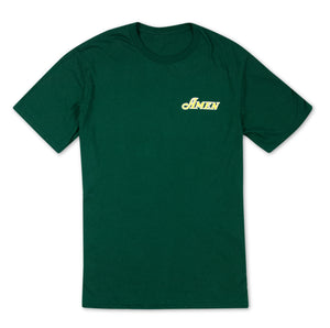 Amen Left Chest Logo T-Shirt - Green