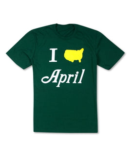 I Heart April T-Shirt - Green