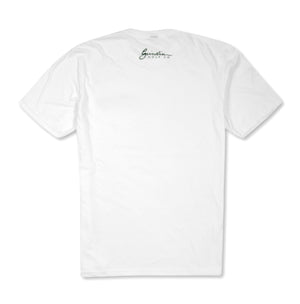 Amen Left Chest Logo T-Shirt - White