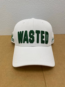 WaStEd Management Snapback WHITE Curved Bill