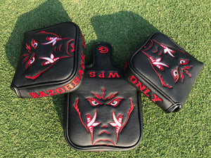 Black Arkansas Use Only Mallet Putter Cover