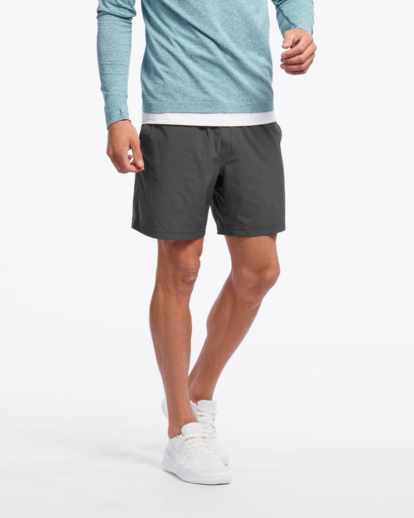 "Mako 7"" Unlined Shorts, Asphalt"