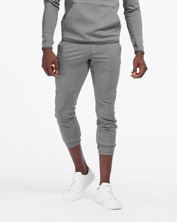 Nylon Tactel TrackPant, Asphalt Heather