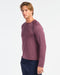 Versatility Seamless Long Sleeve, Dry Rose Heather