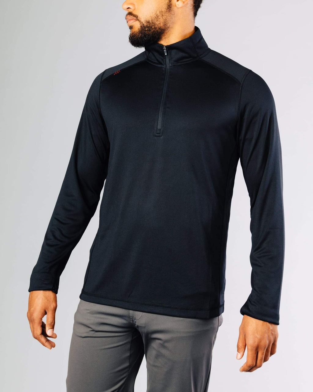 Sequoia 2.0 Quarter-Zip Pullover, Black