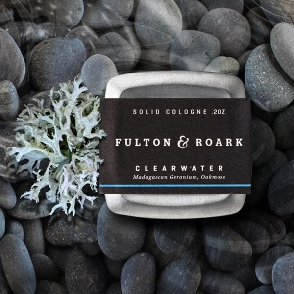 Solid Cologne, Clearwater .2oz
