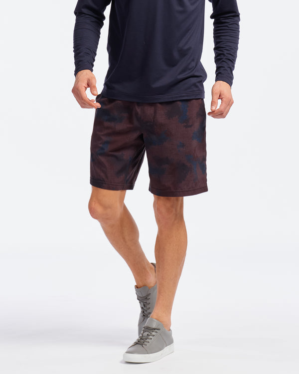 "Mako 7"" Lined Shorts, Camo"