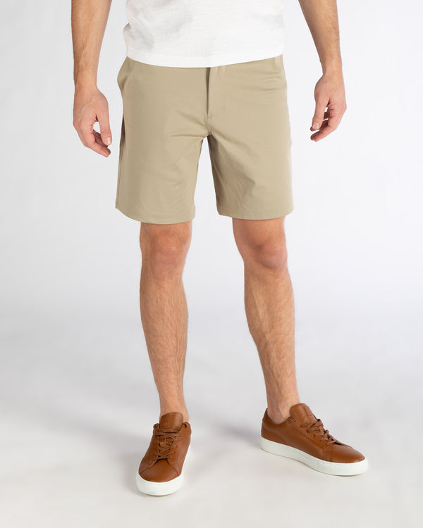 "9"" Commuter Short, Khaki"
